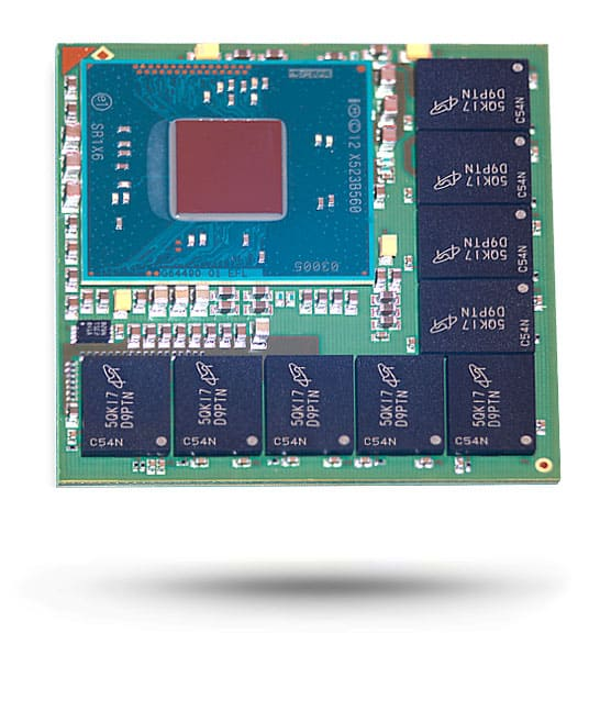 Atom + DDR3 Module - Microelectronics Packaging